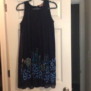 Not So Serious navy dress